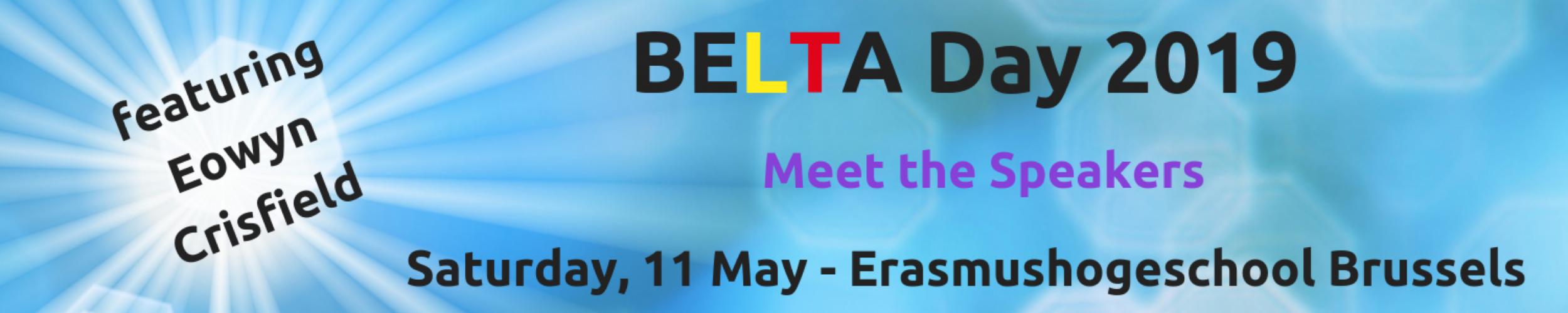 BELTA Day '19: Meet the Speakers