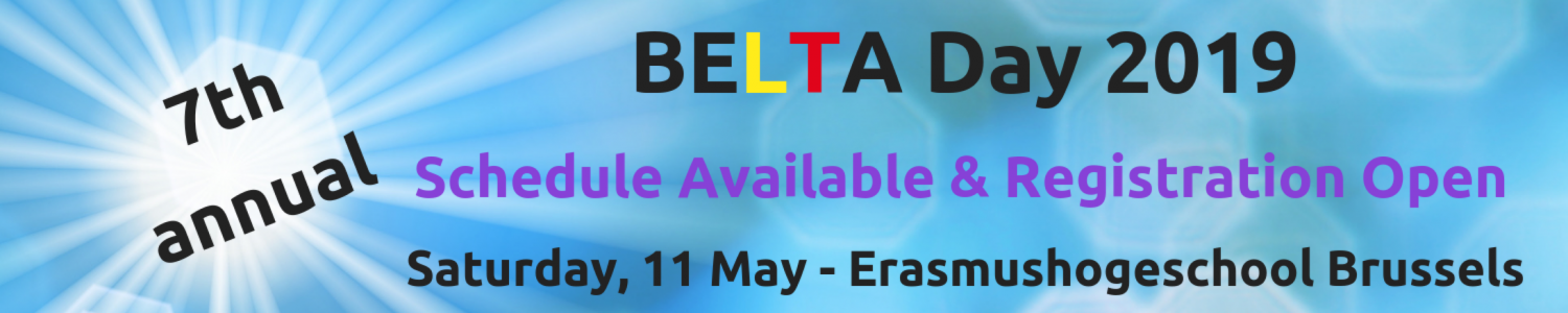 Announcing BELTA Day '19 Registration & Schedule