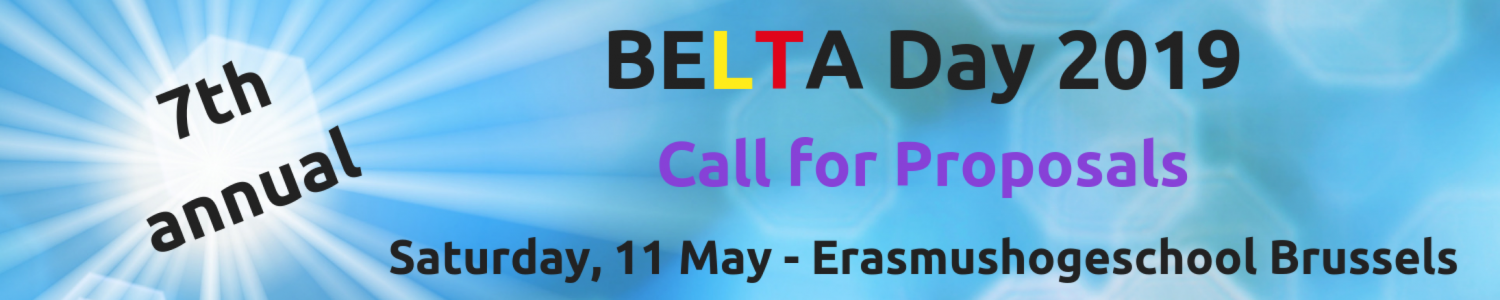 Call for Proposals BELTA Day 2019
