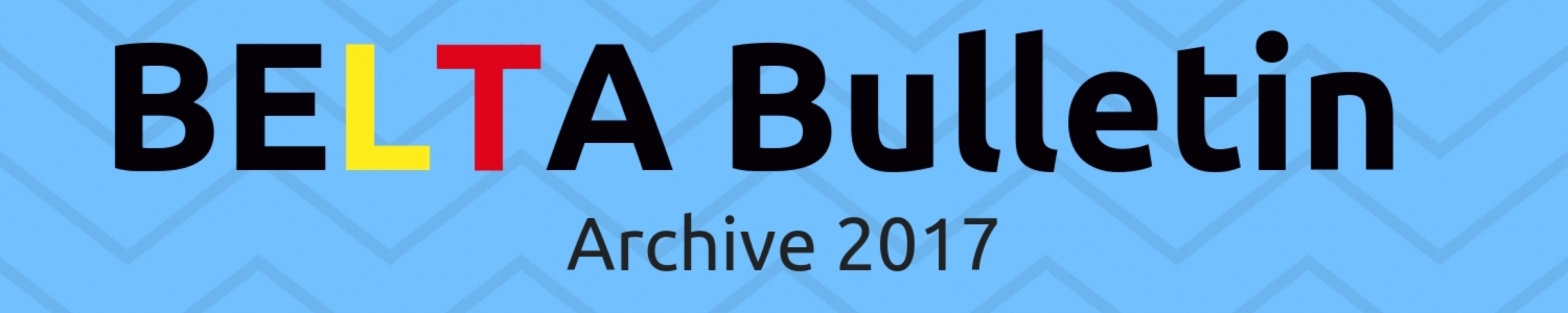 Bulletin Archive 2017