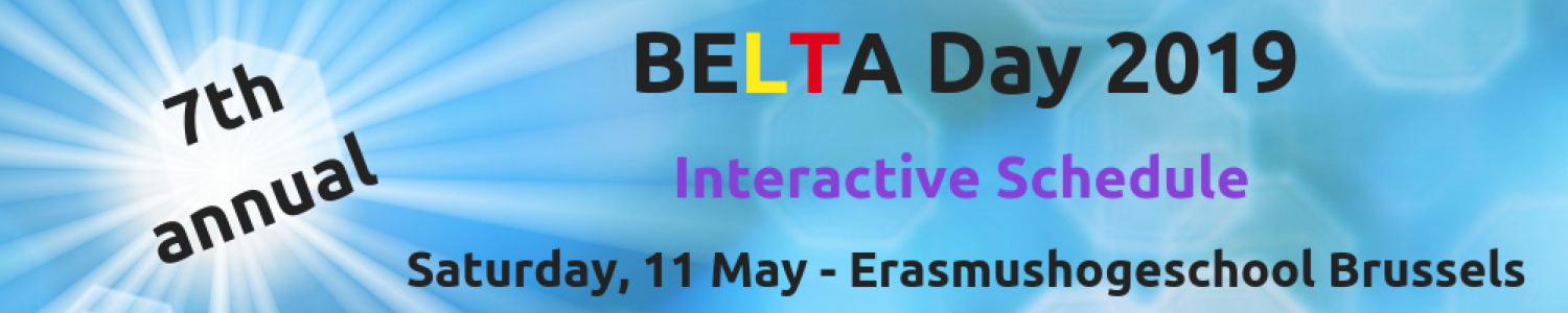 BELTA Day '19 Interactive Schedule