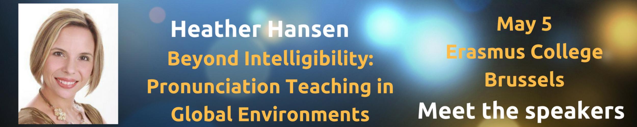 Meet The Speakers: Heather Hansen