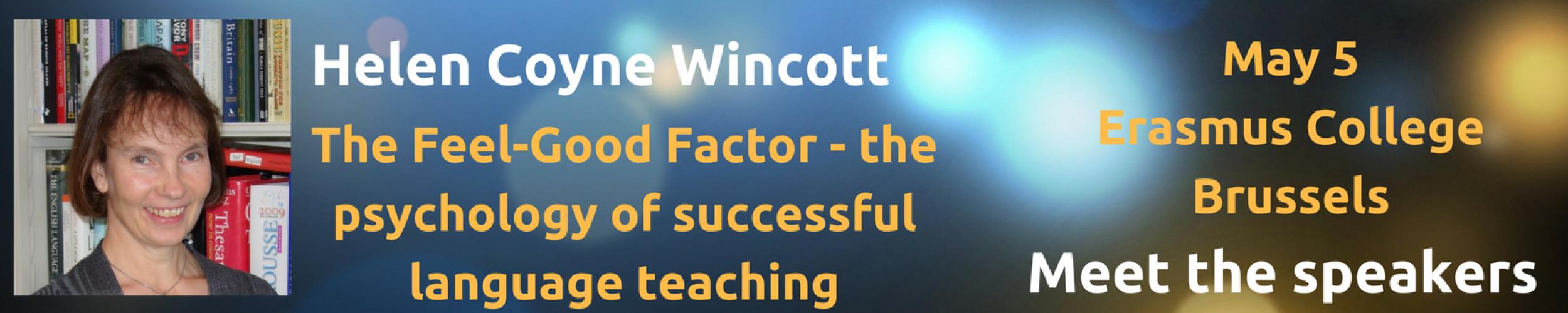 Meet The Speakers: Helen Coyne Wincott