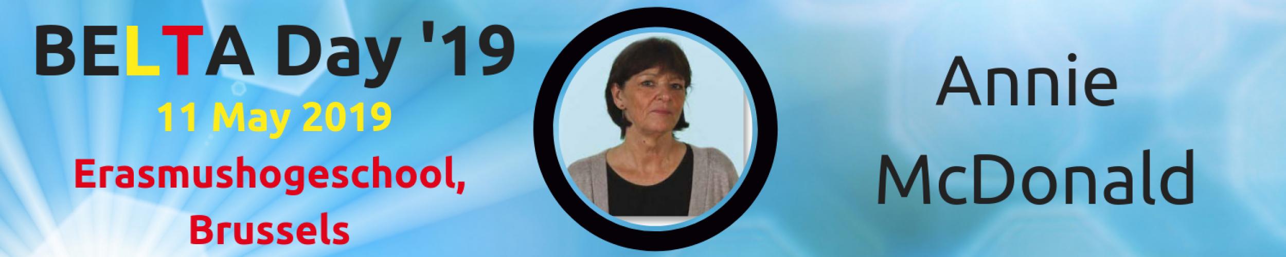 BELTA Day '19: Meet the Speakers: Annie McDonald