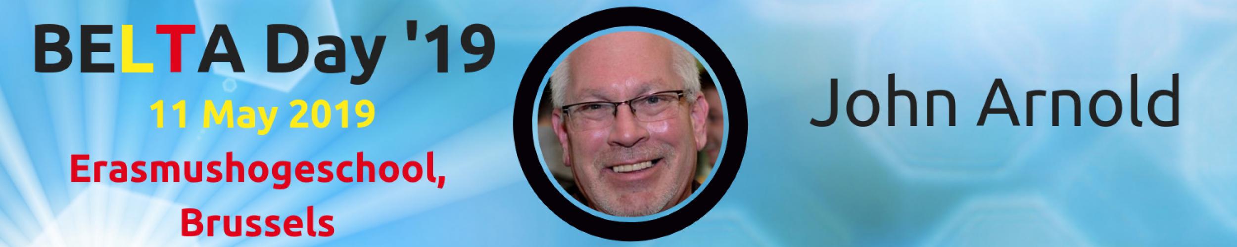 BELTA Day '19: Meet the Speakers: John Arnold