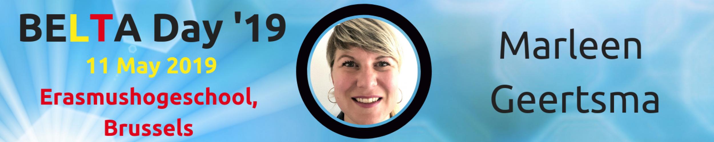BELTA Day '19: Meet the Speakers: Marleen Geertsma