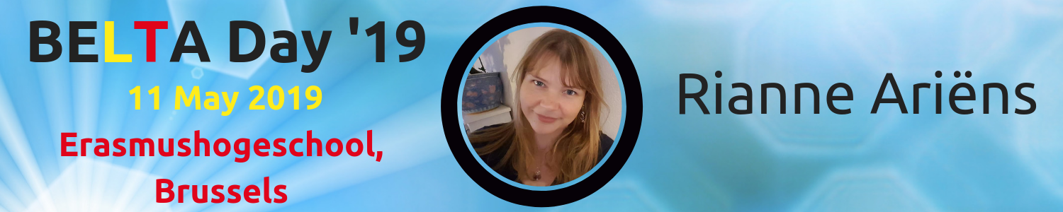 BELTA Day '19: Meet the Speakers: Rianne Ariëns