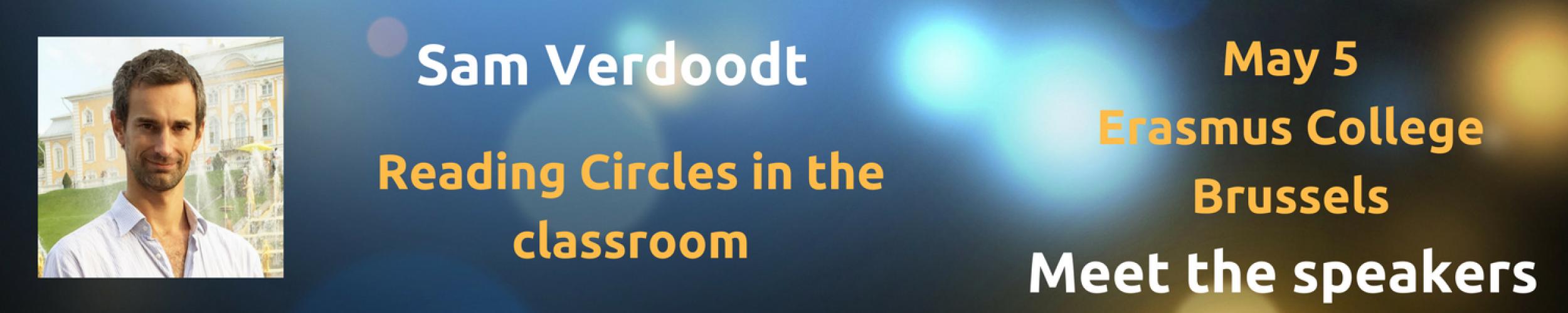 Meet The Speakers: Sam Verdoodt