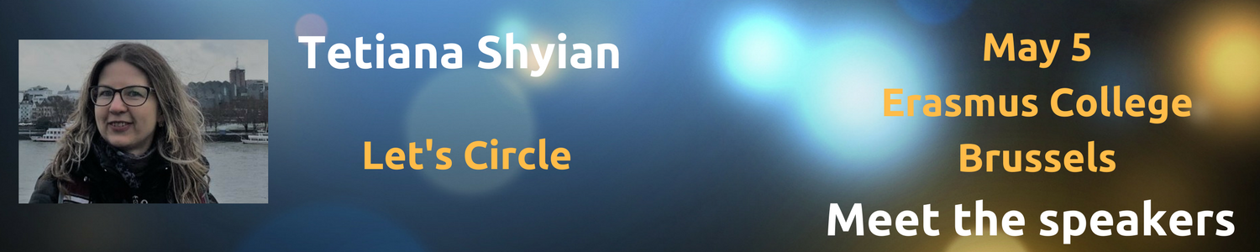 Meet The Speakers: Tetiana Shyian